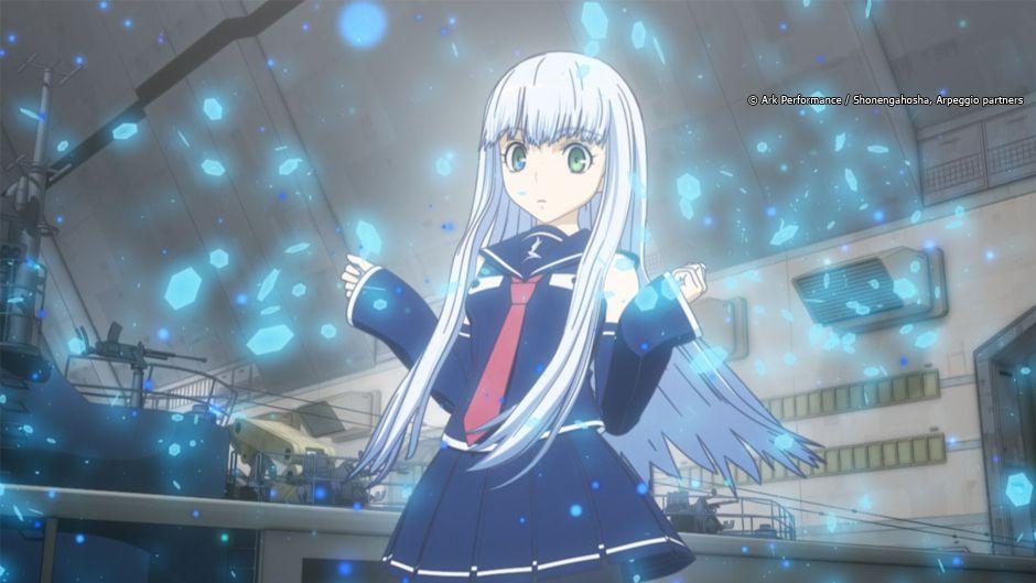 Arpeggio Of Blue Steel Animax Asia Arpeggio Of Blue Steel