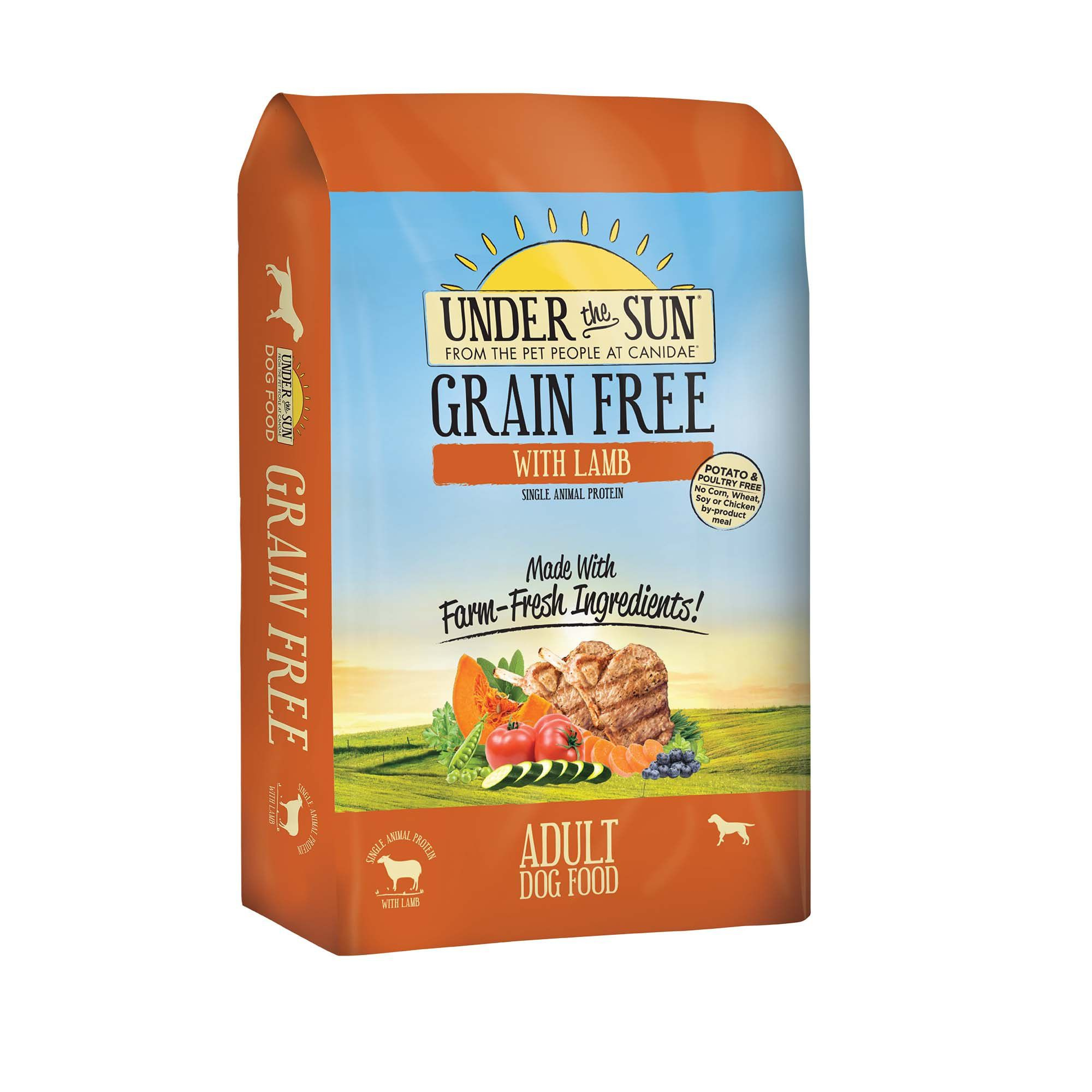 CANIDAE Under The Sun Grain Free with Lamb Adult Dry Dog