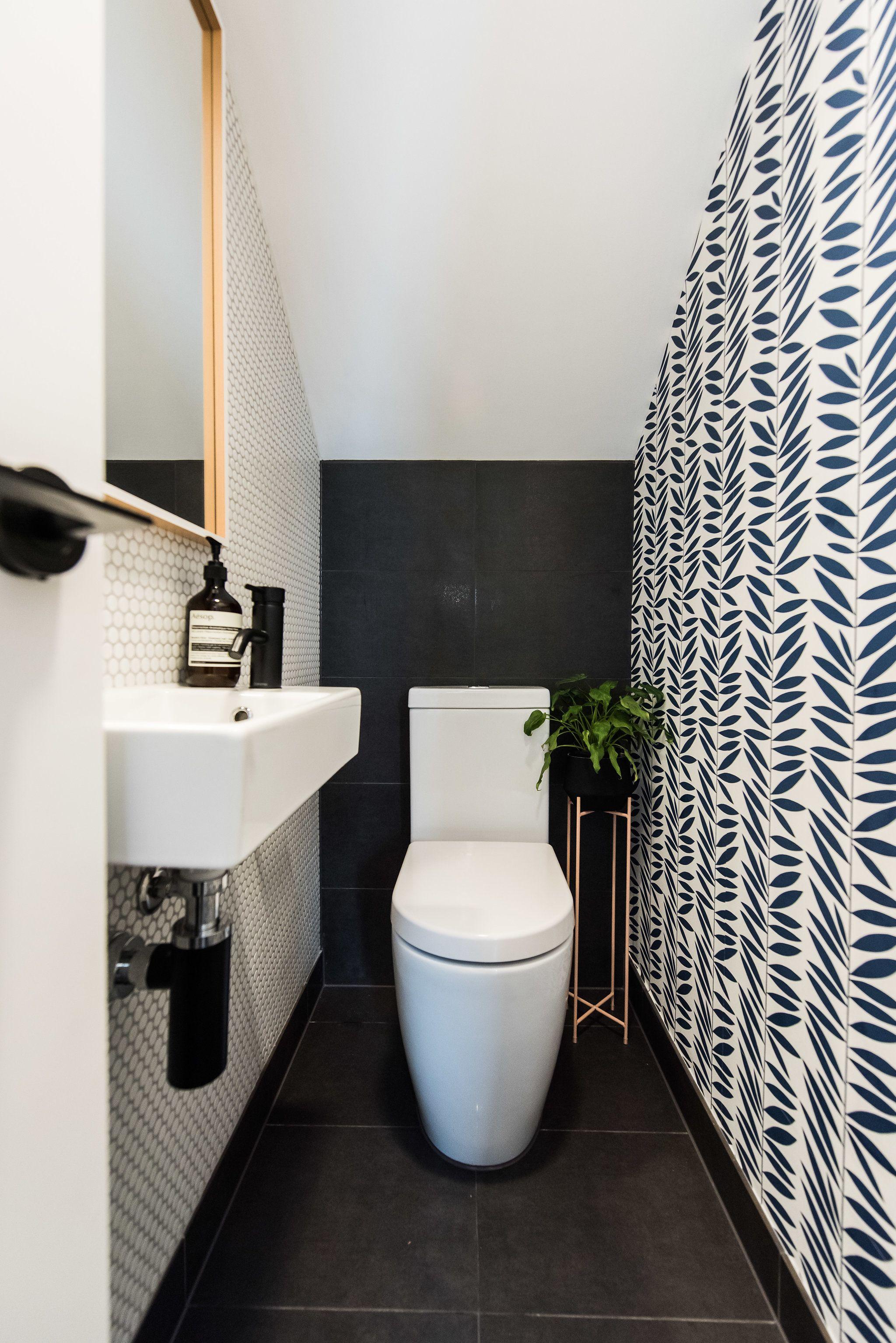 Small Comfort Room Tiles Design: Sandringham Project - Powder Room 2