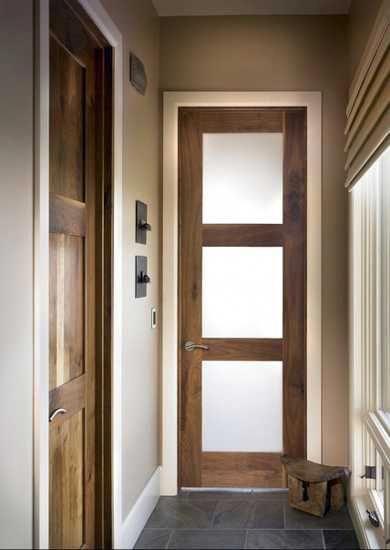 Photo of wooden doors with glass panels…..   Door Designs   Exterior Doors    #DoorDesi…