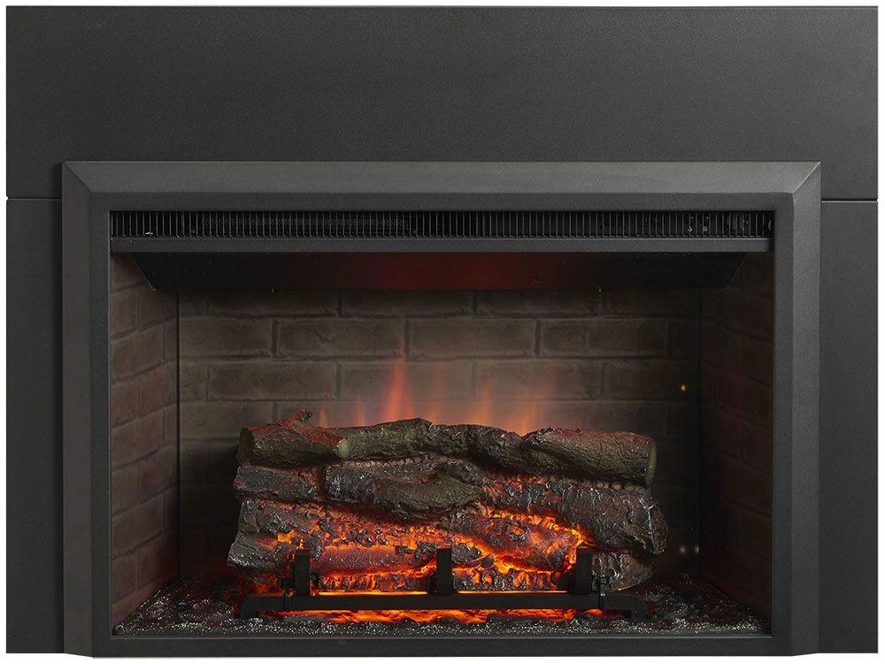 Greatco 32 In Electric Fireplace Insert 42 In Flush Mount