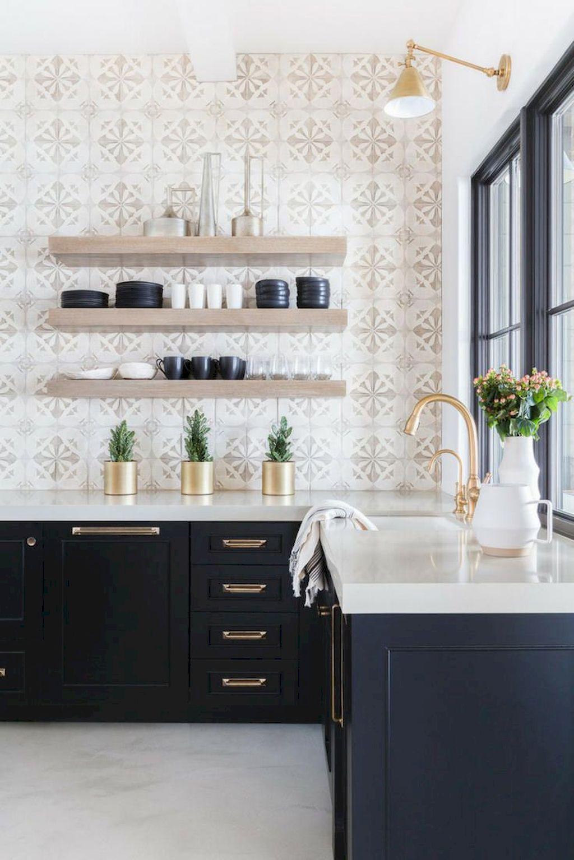 75 Beautiful Farmhouse Kitchen Backsplash Design Ideas