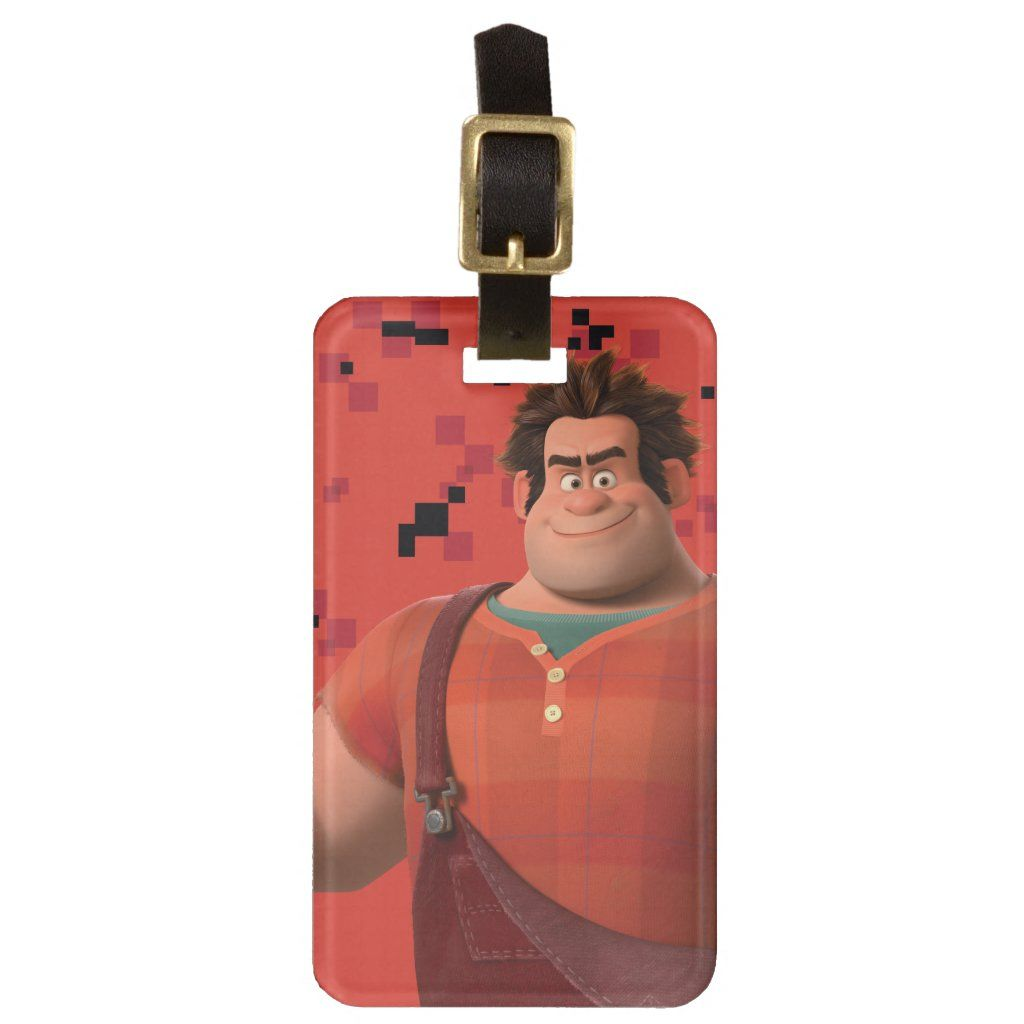 Wreck-It Ralph 3 Tag For Luggage