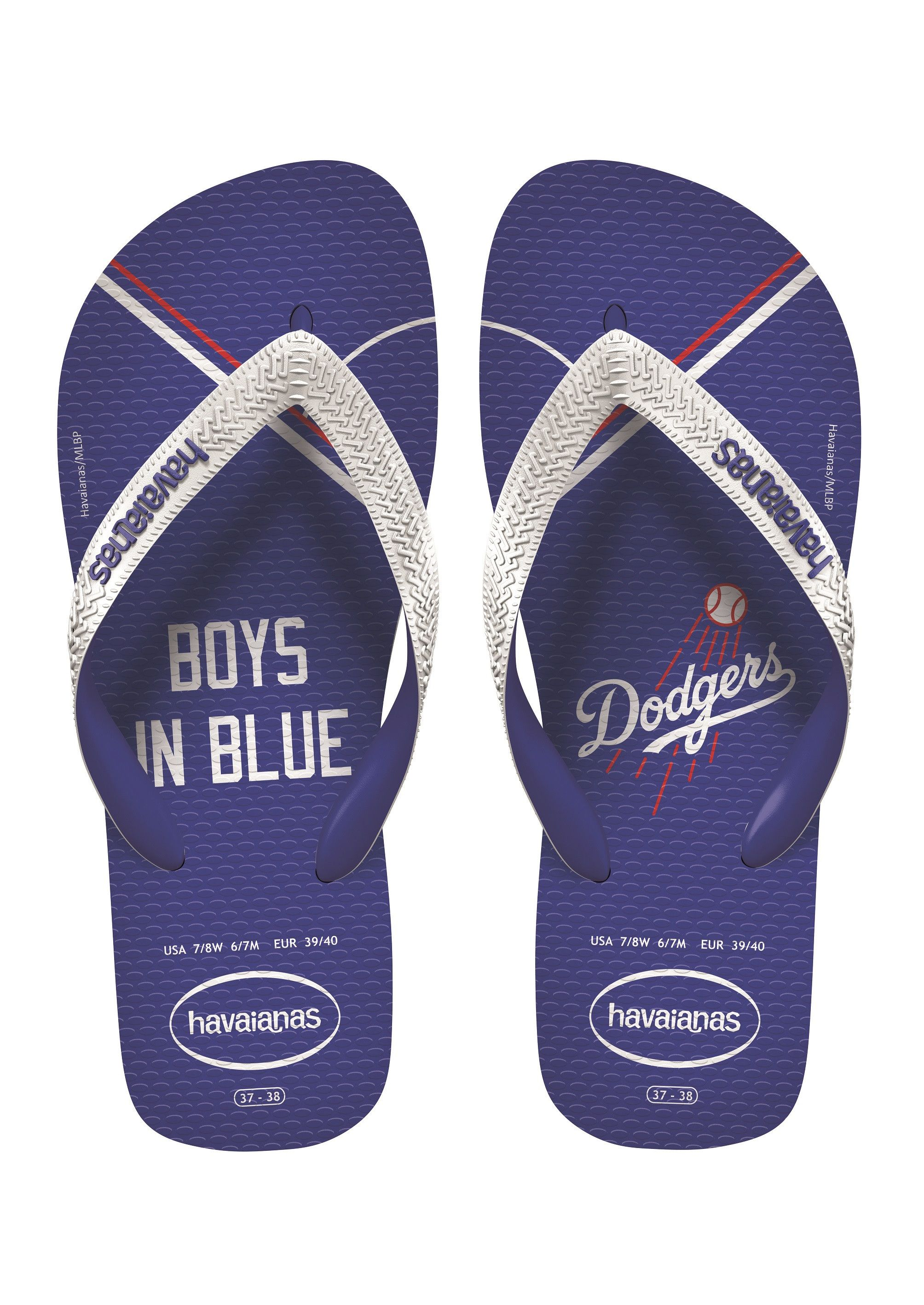 ce3c8140f Havaianas Top Mlb Sandal Blue White Price From  £17.88