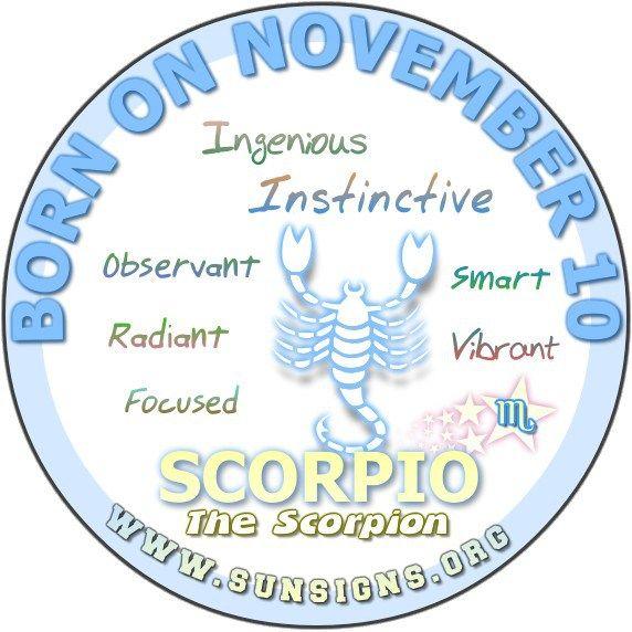 horoscope november 10 sagittarius or sagittarius