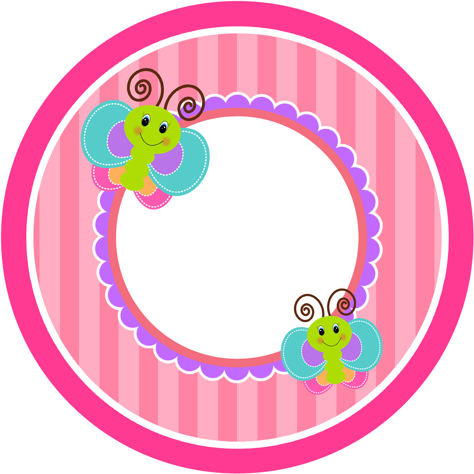 Divertida Mariposa: Etiquetas para Candy Buffet para Imprimir ...