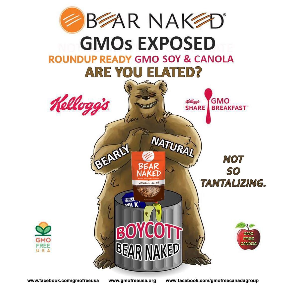 Beware of former private, small company brands that have been bought out by big food manufacturers!