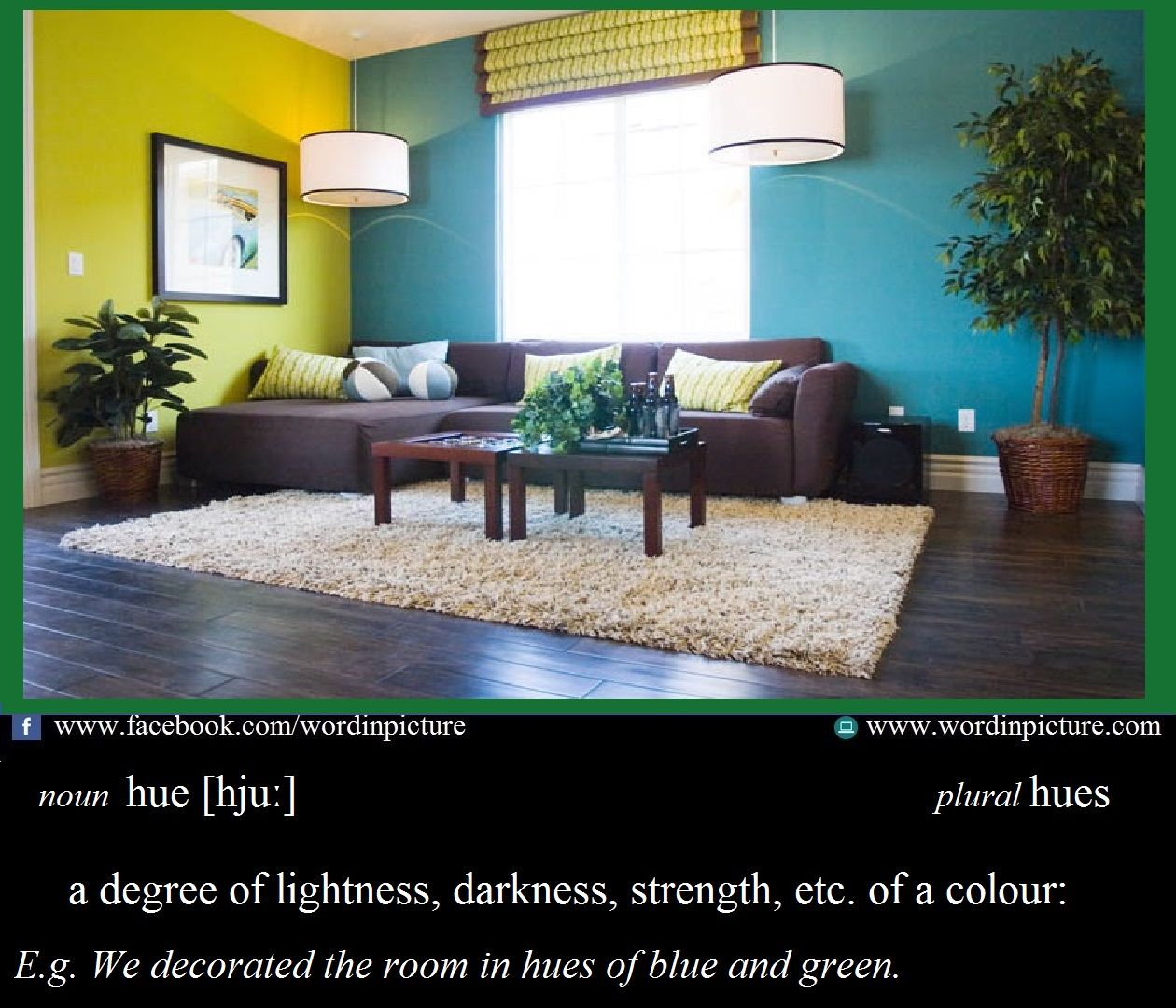 Learn New Word In English Hue Meaning