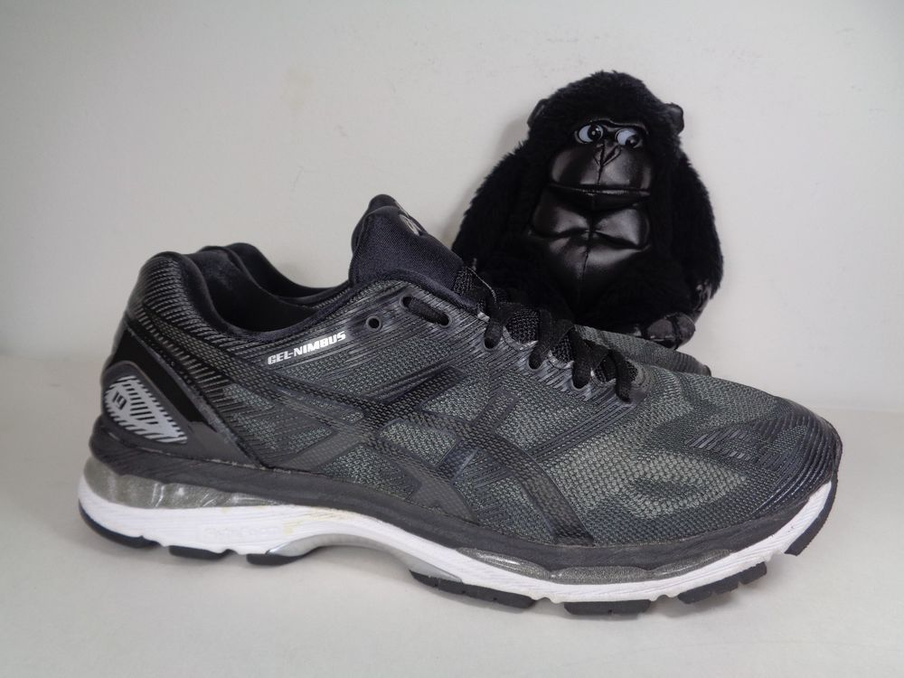 brand new 7c5ca 68d70 Details about Asics Gel Nimbus 19 Gray/Silver Training ...