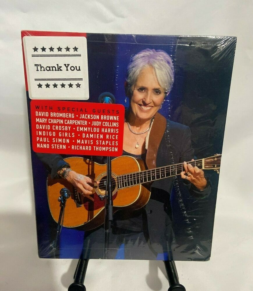 Joan Baez 75th Birthday Celebration New Dvd Region 1 Thirteenproduction En 2020