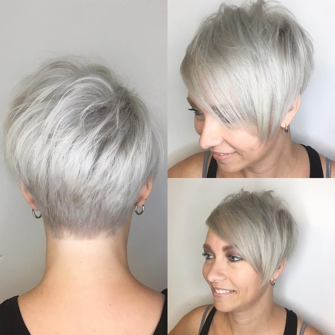 Cute Looks with Short Hairstyles for Round Faces 2018 - Styles Art ...