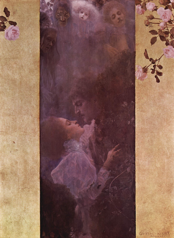 Die Liebe, 1895. Gustav_Klimt_025.jpg (2024×2764)