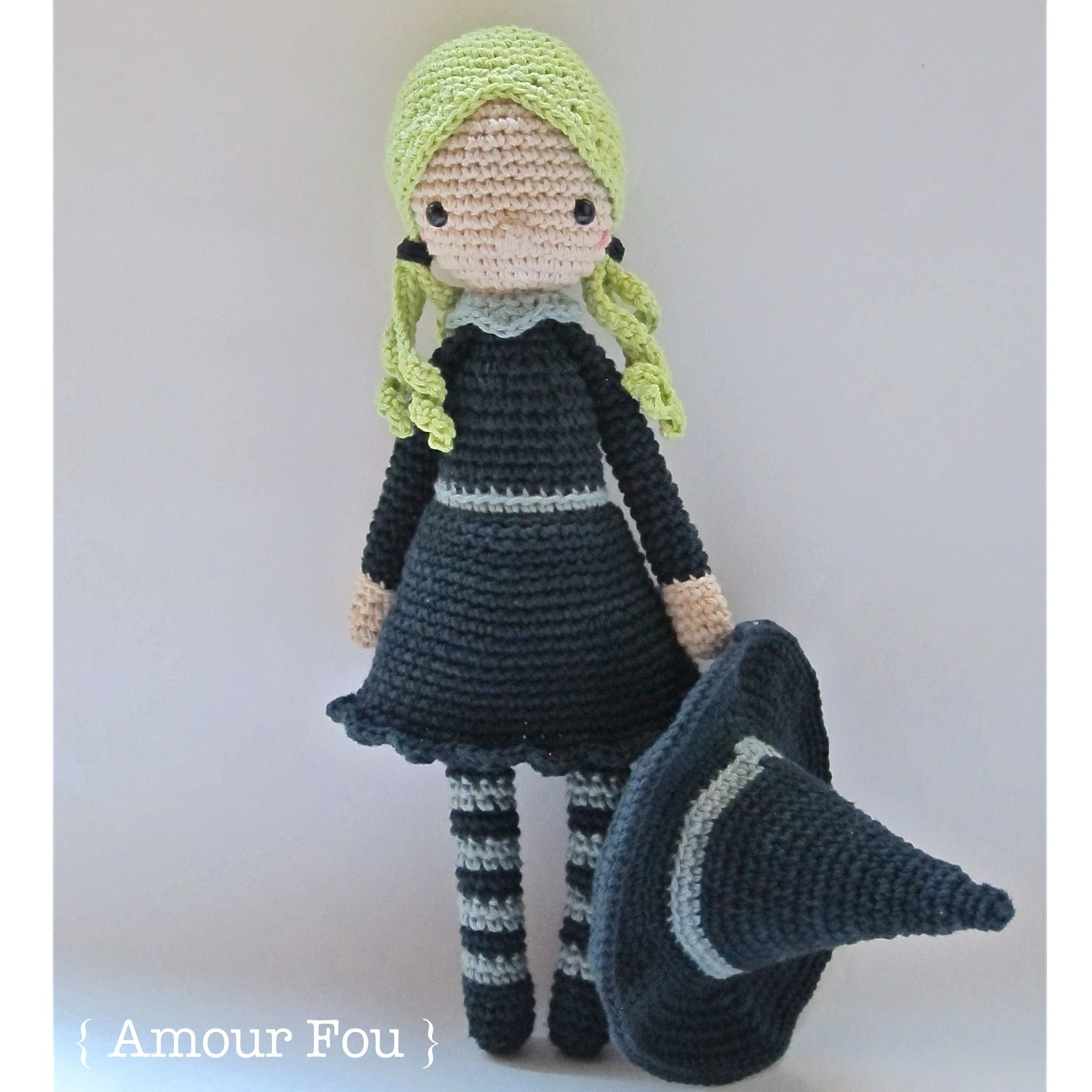 Gretl, the Witch - Crochet Pattern by {Amour Fou} | { Amour Fou ...