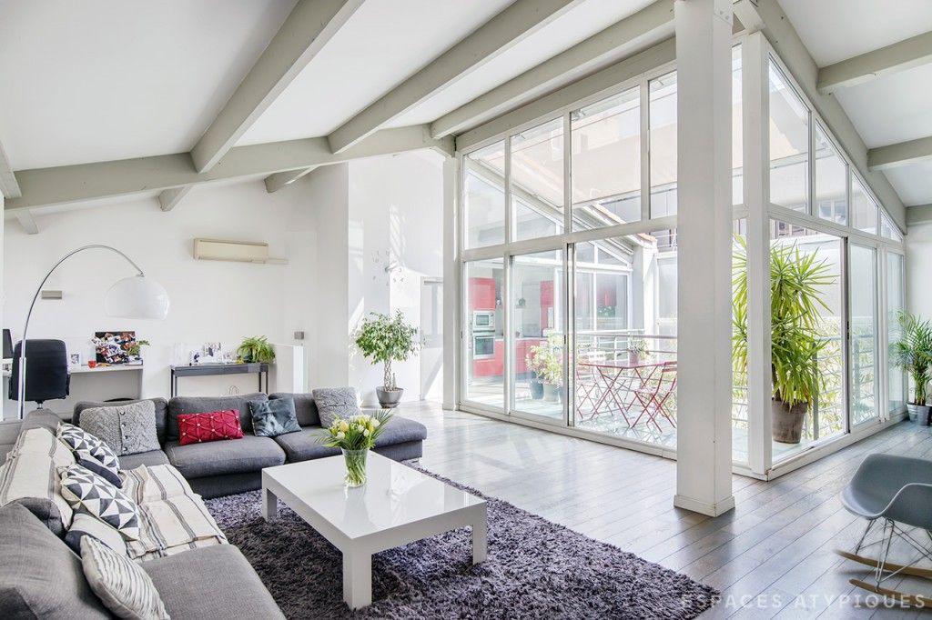Marseille prado loft en duplex avec patio agence ea marseille
