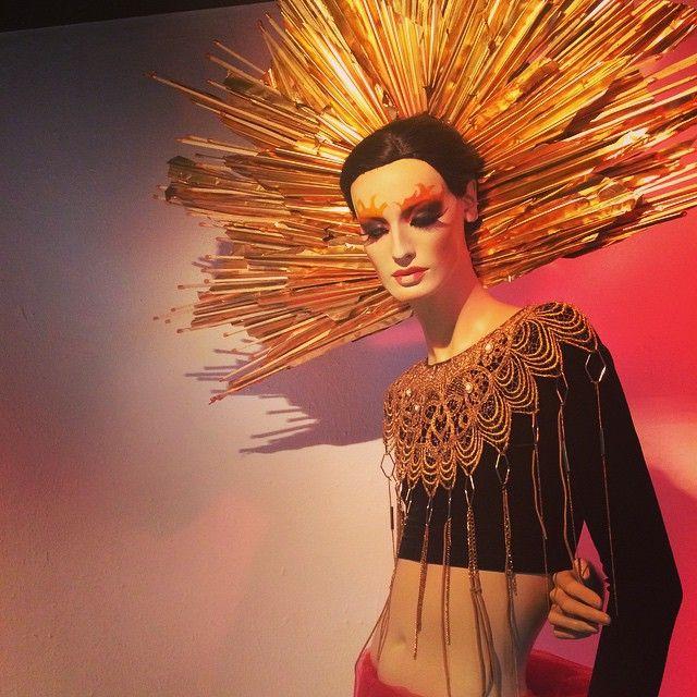"FIDM Fashion Institute of Design & Merchandising, College in San Diego, USA, ""I didn't start the fire"", (by Amanda Yost) pinned by Ton van der Veer"