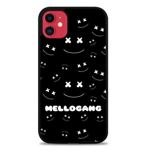Marshmello Mellogang Black Art L2779 Iphone 11 Case Iphone Iphone 11 Iphone 8 Cases