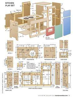 Build A Kids Play Kitchen Kids Play Kitchen Diy Play Kitchen