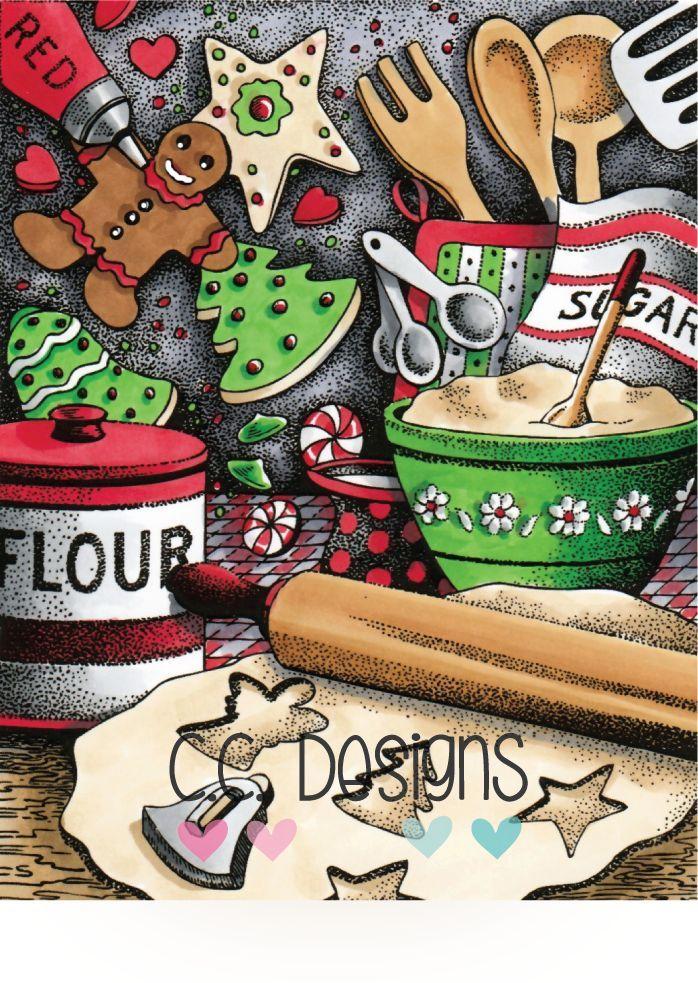 DoveArt Studios Stamp-Holiday Treats
