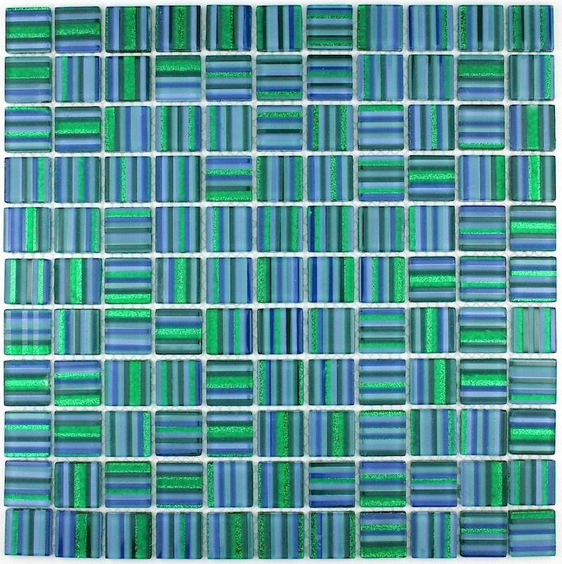 Carrelage Mosaique En Verre Douche Salle De Bain Candy Vert Carrelage Mosaique Verre En Mosaique Carrelage Inox