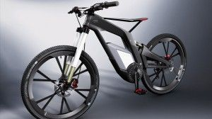 Check out Audi's new electric mountain bike - it's a 50mph stunt monster! | Bikes | ChopMTB
