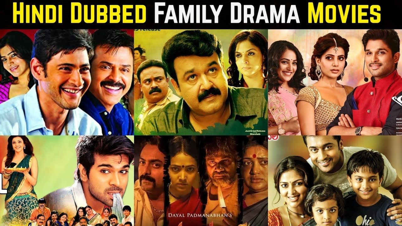 20 best south indian family drama movies in hindi dubbed