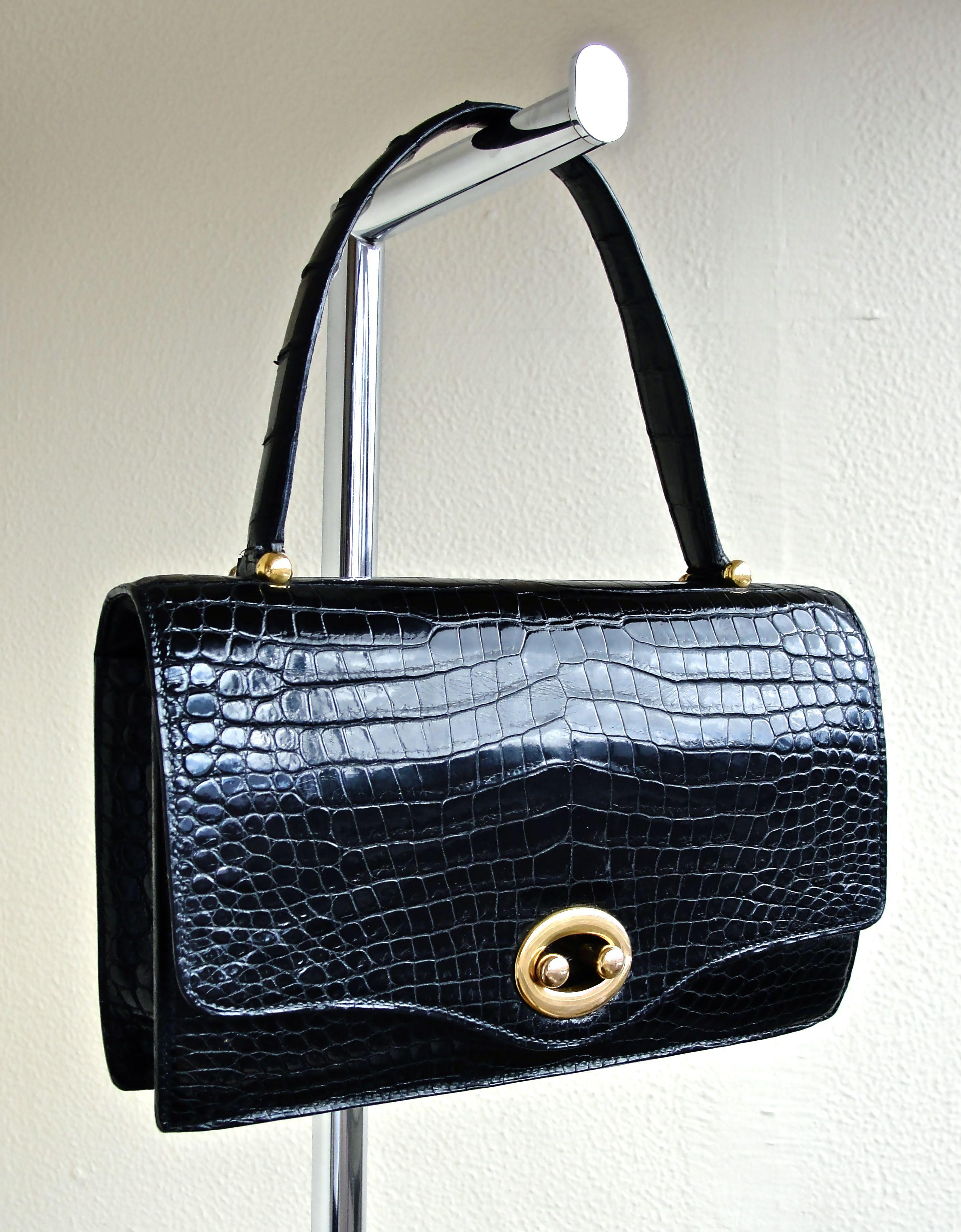 Hermes Handbag VTG era 50´s Clothing and accessories VTG
