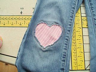 Hacer Parche Para Pantalon Cositasconmesh Knee Patches How To Patch Jeans Sewing