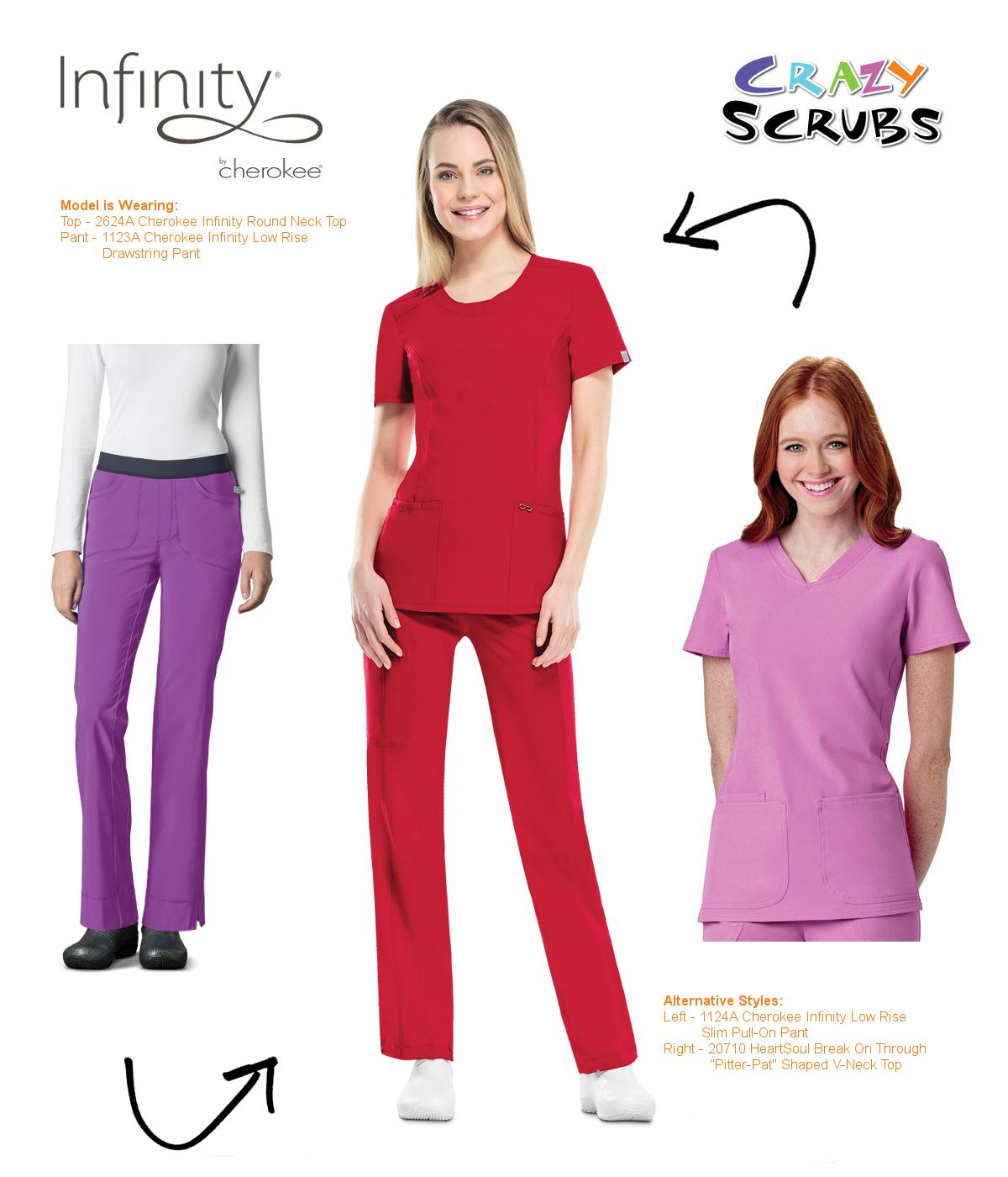 fashion s by uniforms of infinity features today ootd pin scrubs the day outfit cherokee
