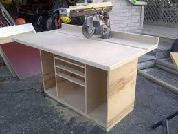 Image result for radial arm saw built in cabinet                                                                                                                                                                                 More
