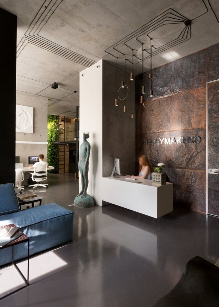 office and showroom of architectural workshop sergey makhno lumini rh pinterest ca
