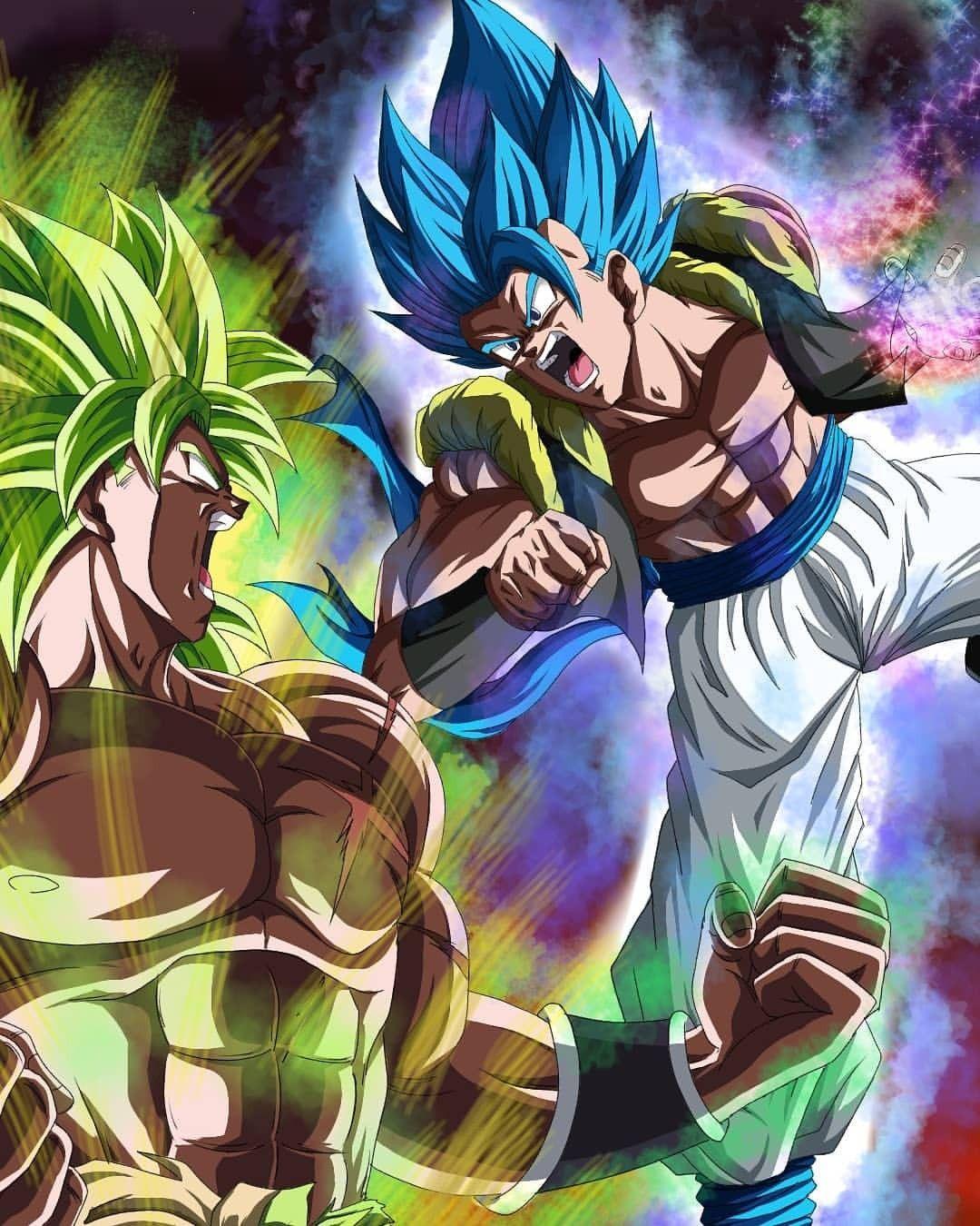 Broly Vs Gogeta Anime Dragon Ball Super Dragon Ball Image