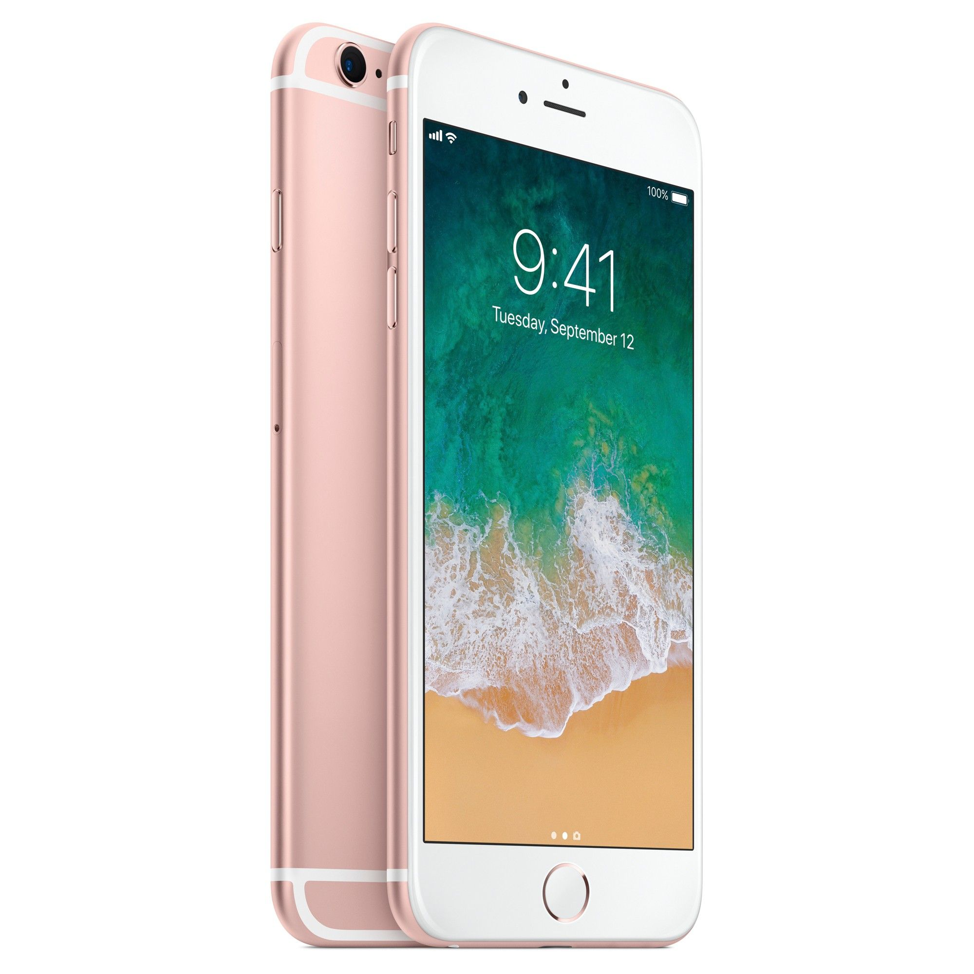 Unlocked iPhone 6s Plus 64GB Rose Gold Certified Refurbished