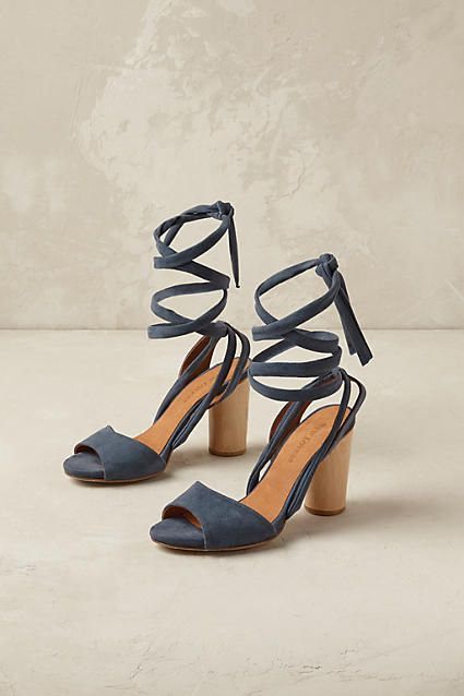 Zoe Wrapped Heels - anthropologie.com