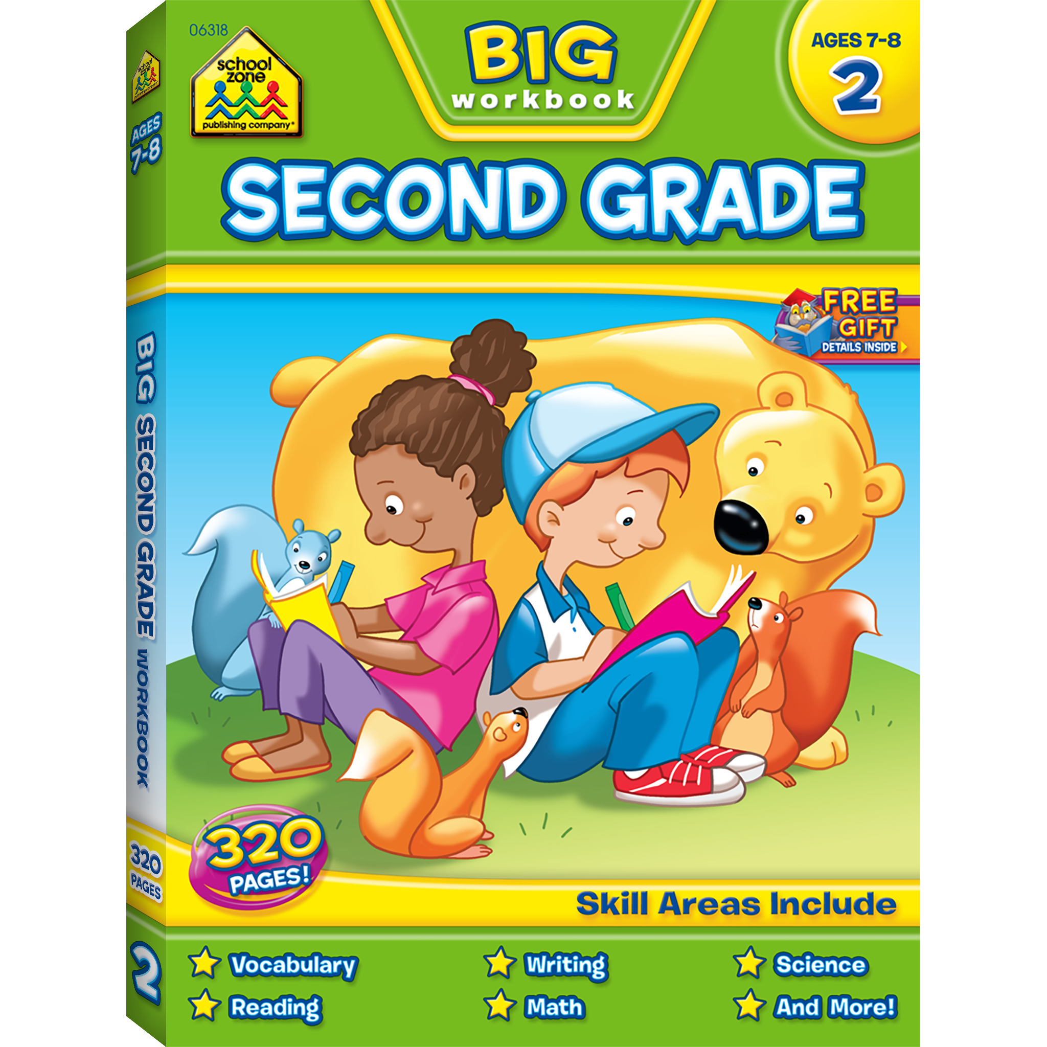Big Second Grade Workbook | Spelling, Search and Second grade