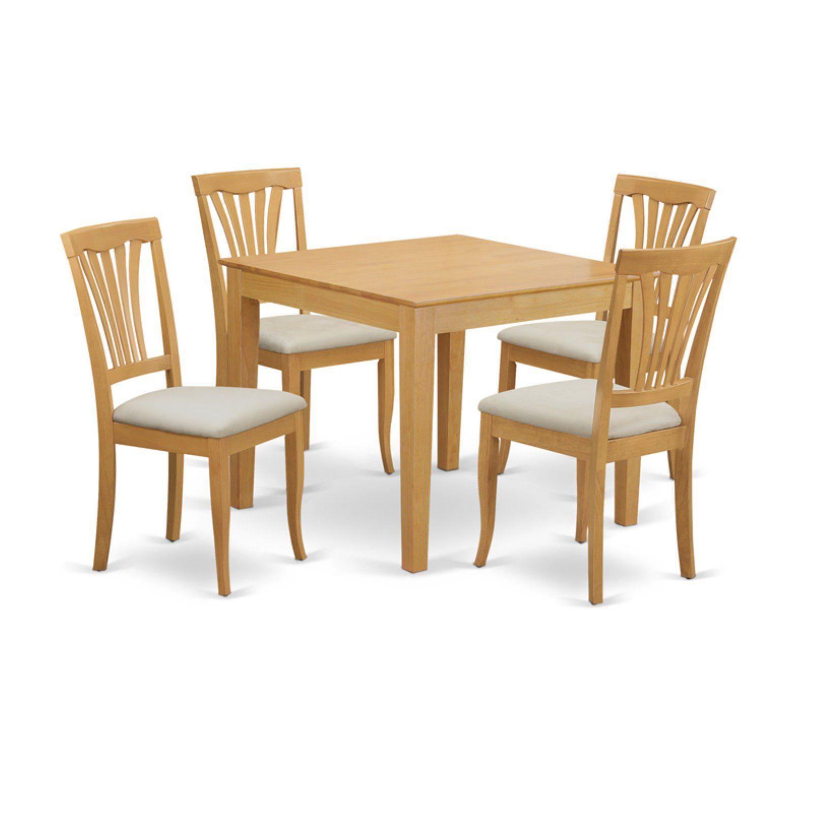 east west furniture 5 piece lath back breakfast nook dining table rh pinterest com