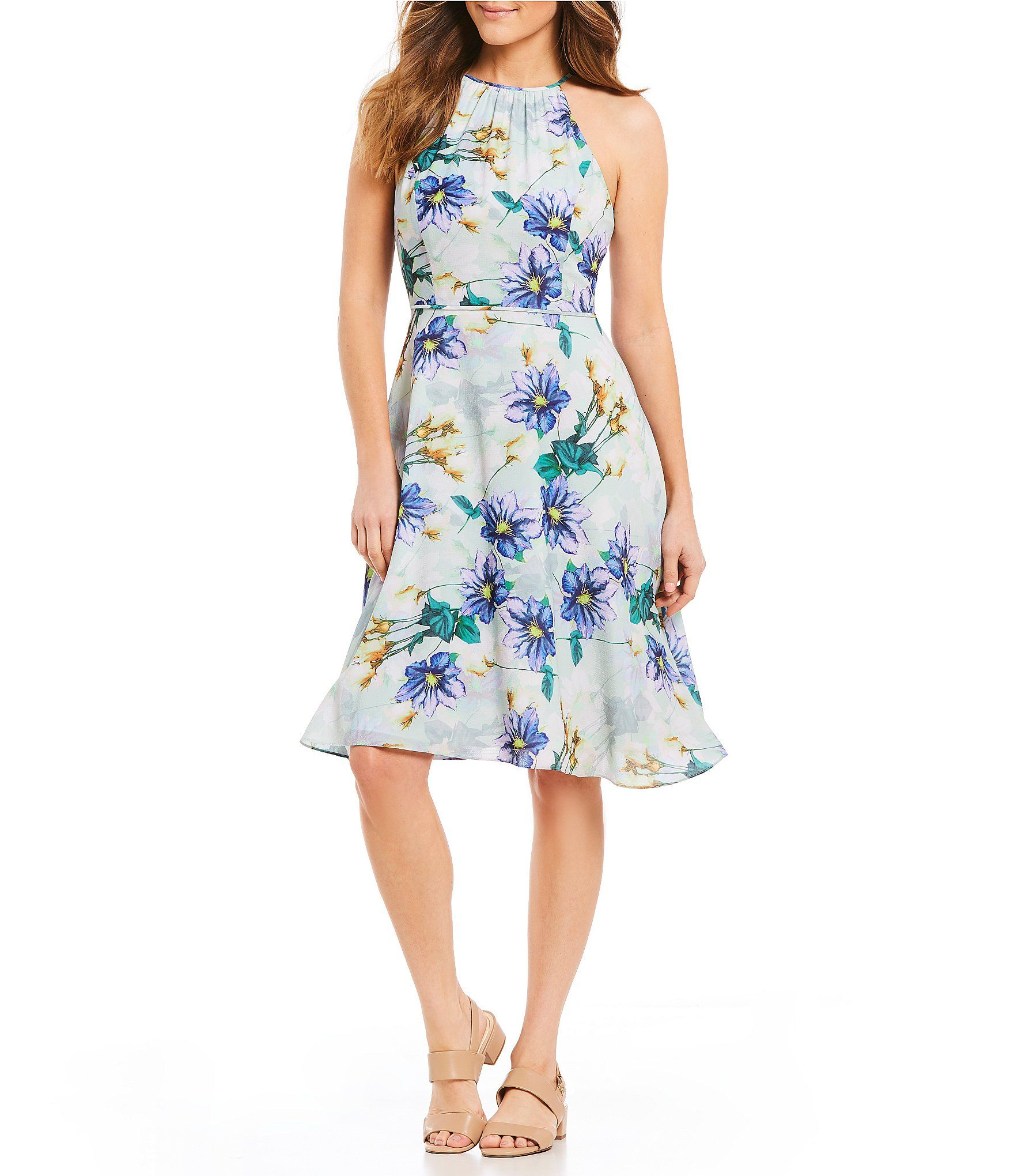 145486f1828 Shop for Alex Marie Thea Halter Floral Print Dress at Dillards.com. Visit  Dillards.com to find clothing