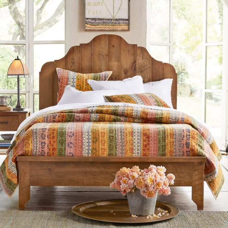 love this bed from sundance antiqued pine provence bed rh pinterest com