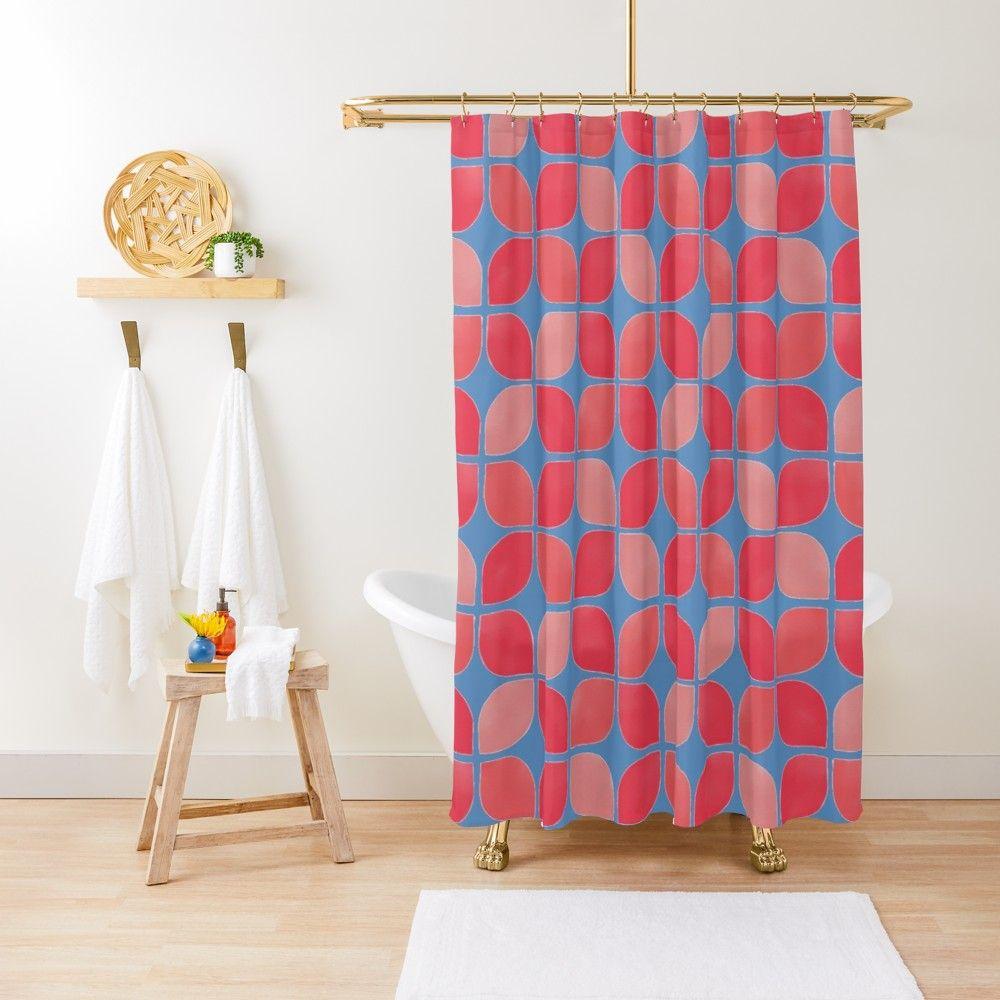 Gladiola Petals Purple Shower Curtain By Ruth Blohm Hunter