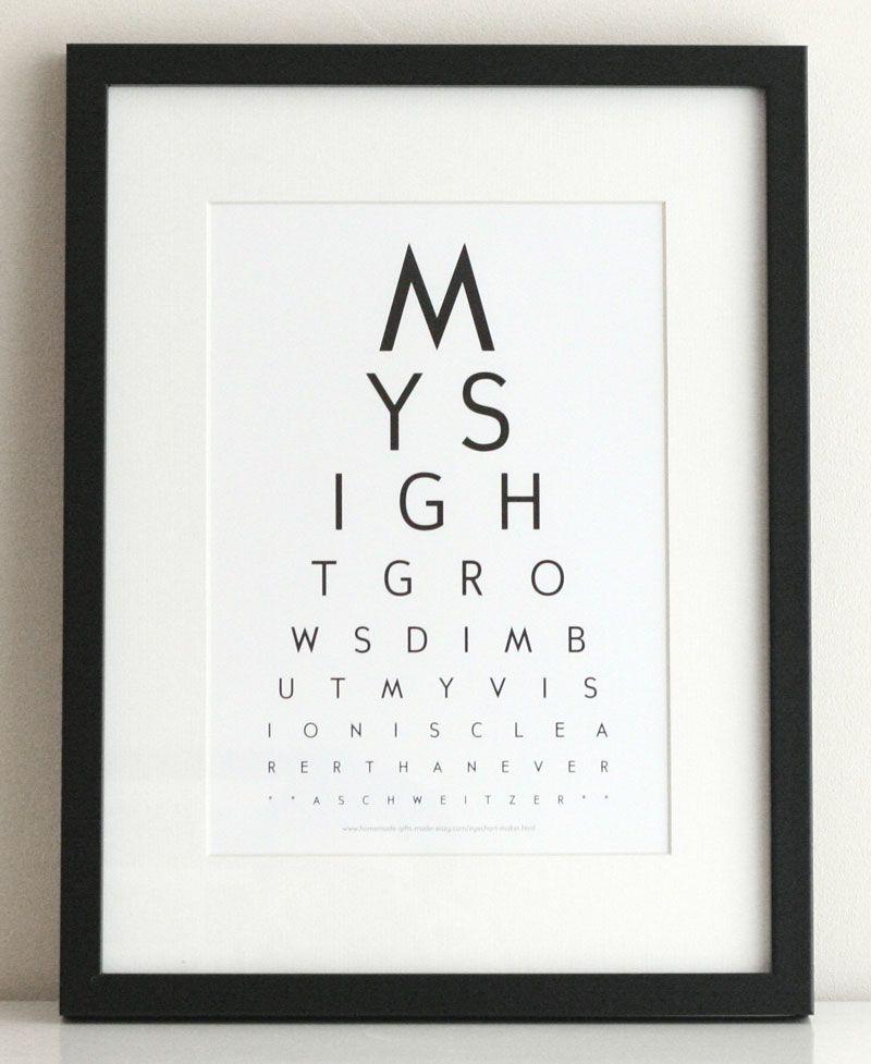 Create Custom EyeCharts Online