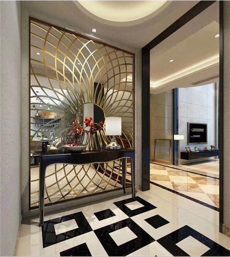 Beautiful Wall Partition Design Ideas For Your Home To See More Read It In 2021 Wall Partition Design Living Room Partition Design Partition Design