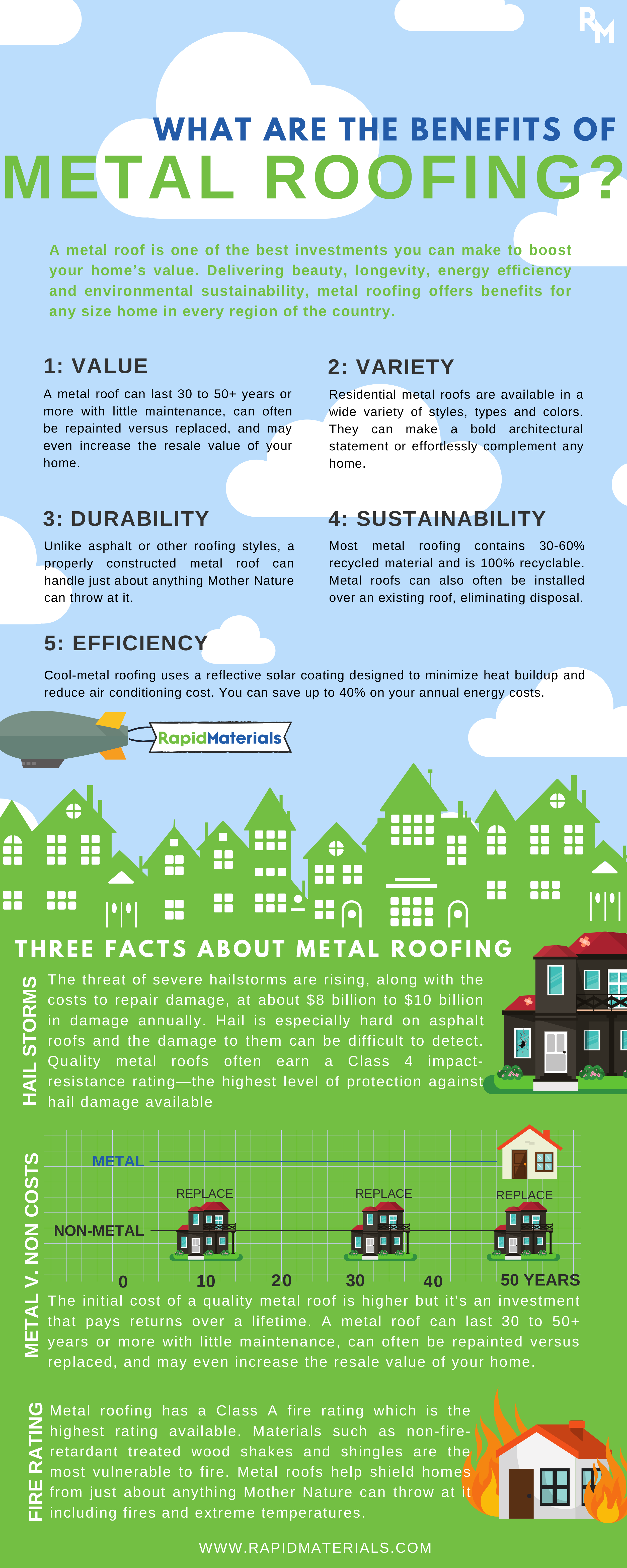 A Metal Roof Is One Of The Best