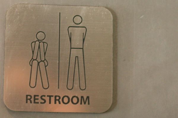 His/Hers Bathroom Signs HAHAHAHA!