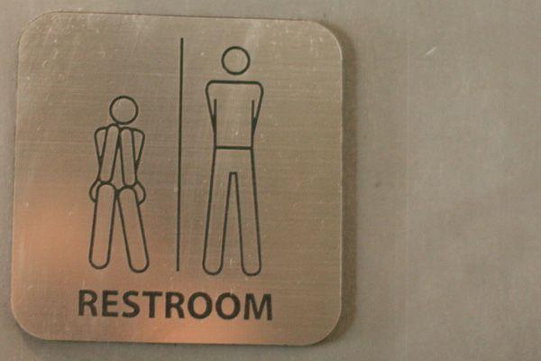His/Hers Bathroom Signs HAHAHAHA!