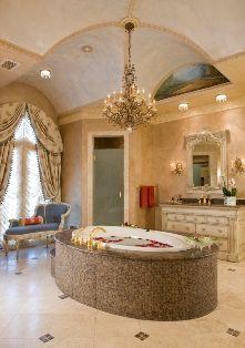 elegant master bathrooms master bath u201d haleh told us pointing rh pinterest com