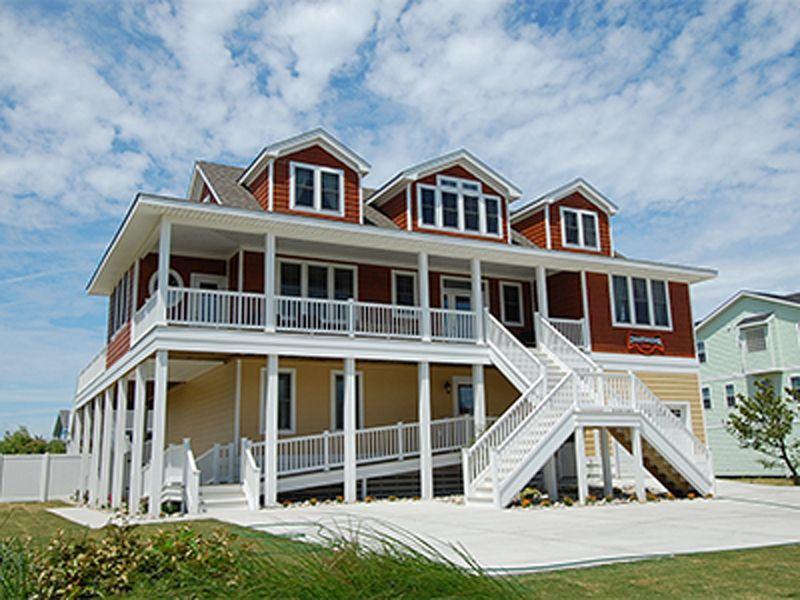 dreamweaver is a semi oceanfront sandbridge rental with 8 bedrooms rh pinterest com