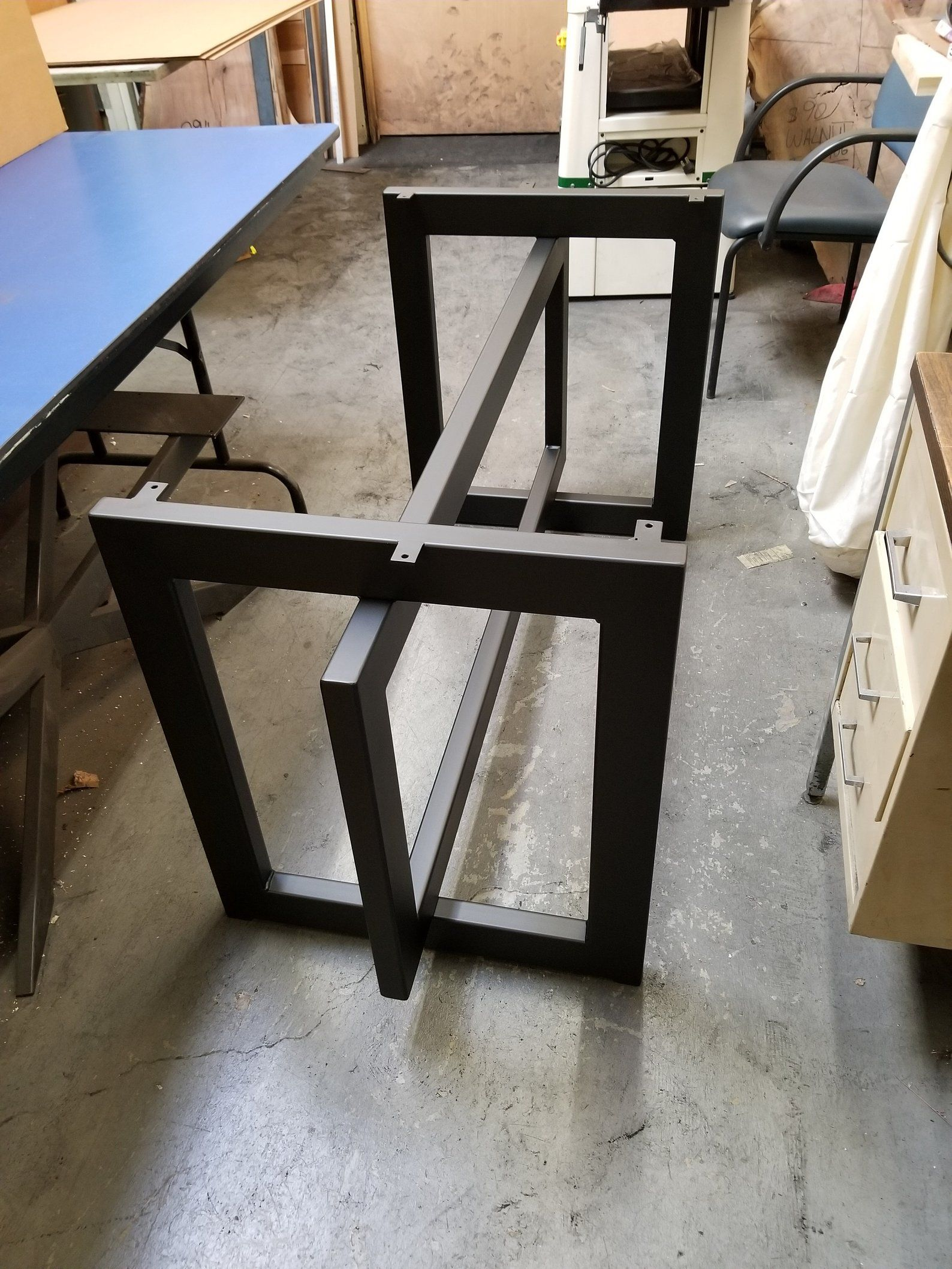 Table Base For Wood Or Granite Top Model Itwdgr1 Etsy Granite