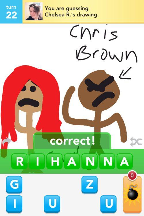 10 Disturbing Draw Something Drawings Of Rihanna Funny Pix Draw Something I Love To Laugh