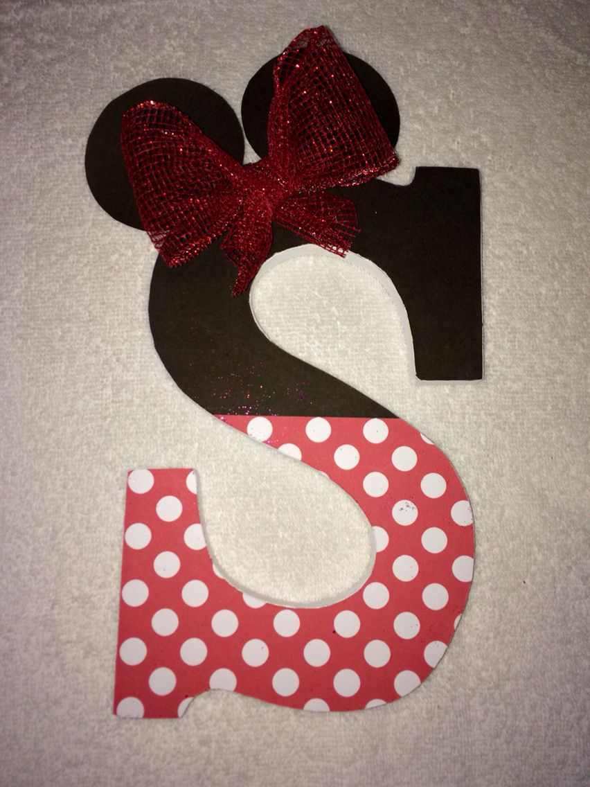 Minnie Mouse Wall Decorative Wood Letters Baby By Artsyautly Minnie Mouse Room Decor Minnie Mouse Nursery Minnie Mouse Decorations