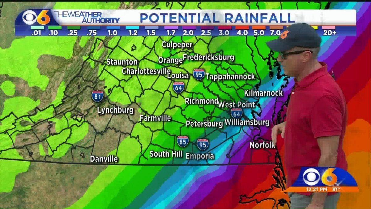 Hurricane Dorian S East Coast Swing Could Bring Rain To Virginia East Coast Swing North Carolina Coast National Hurricane Center