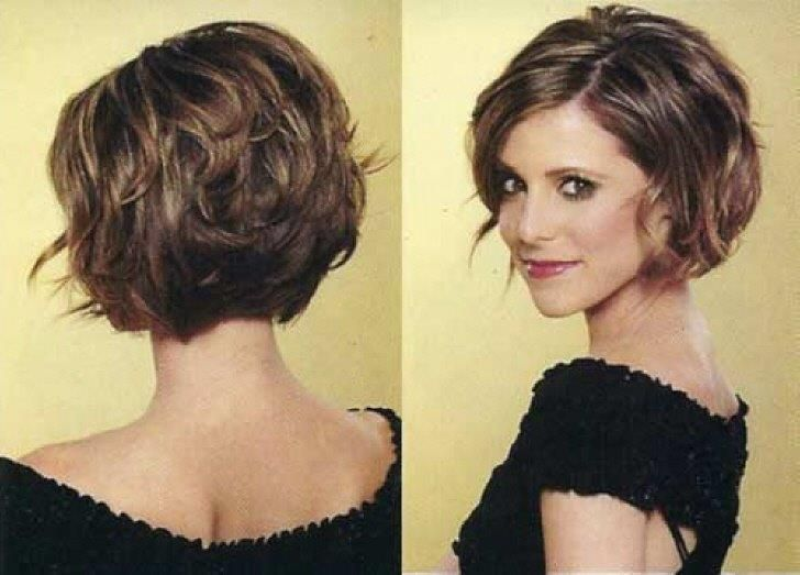 Short Hairstyles For Thick Coarse Hair Short Thick Hairstyles For Women With A Varie Short Hairstyles For Thick Hair Short Hair Styles Haircuts For Wavy Hair